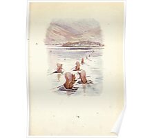 The Tale of Squirrel Nutkin Beatrix Potter 1903 0017 Rats of Twigs Tail Sails to Owl Island Poster