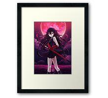 Akame Framed Print