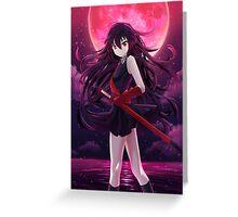 Akame Greeting Card