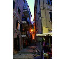 Monterosso Alley Photographic Print
