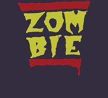 Run Zombies! On Blue Unisex T-Shirt