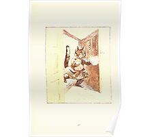The Tailor of Gloucester Beatrix Potter 1903 0045 Cat With Cream Poster