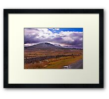 There's a Storm Commimg Framed Print