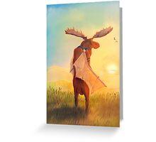 Wistful Greeting Card
