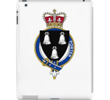 Coat of arms (family crest) for last-name or surname Porter (England) . Heraldry banner for your name. iPad Case/Skin