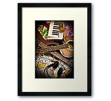 Computer Music Framed Print
