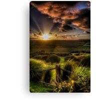 Sunset in Fairy Tales Canvas Print
