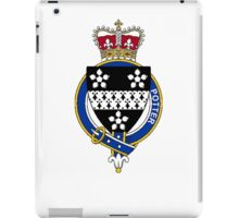 Coat of arms (family crest) for last-name or surname Potter (England) . Heraldry banner for your name. iPad Case/Skin
