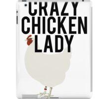 Crazy Chicken Lady iPad Case/Skin