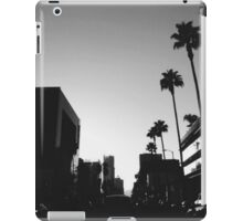 hollywood, ca iPad Case/Skin
