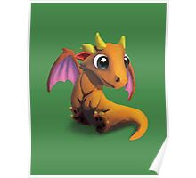 Little Baby Dragon Poster