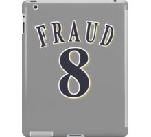 8 FRAUD Grey iPad Case/Skin