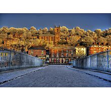 ironbridge church  Photographic Print