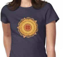 Chitaqua Rose Womens Fitted T-Shirt