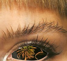 palm eye by Della  Badart