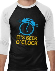 Its Beer Oclock Men's Baseball ¾ T-Shirt