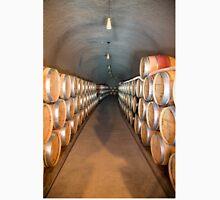 Wine Barrels Portrait Unisex T-Shirt