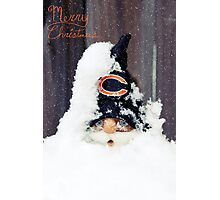 Chicago Bears Gnome Photographic Print