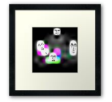 Something In The Air Tonight Framed Print