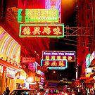 Neon - Hong Kong by Wayne Holman