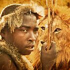 Bushman and the Lion by Bryan Peterson