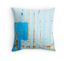 Azzurro - Blue Throw Pillow