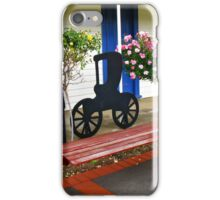 Have a seat at the Honey Farm Shop iPhone Case/Skin