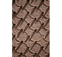 Rings and Studs Pattern Photographic Print