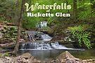 Waterfalls of Ricketts Glen - Calendar Cover by Gene Walls