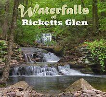 Waterfalls of Ricketts Glen by Gene Walls