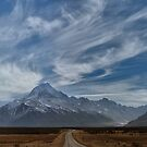 Nature's Epic Tale, the Road to Aoraki by Peter Kurdulija