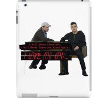 Mr Robot, I Love You (SPOILER ALERT) iPad Case/Skin