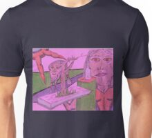 now serving sanity Unisex T-Shirt