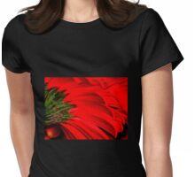 Gerbera Abstract Womens Fitted T-Shirt