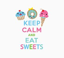 Keep Calm and Eat Sweets      Womens Fitted T-Shirt