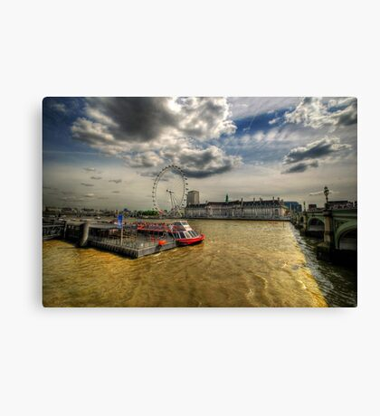 River Thames, London Canvas Print