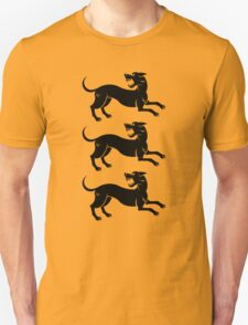 Three Hounds Unisex T-Shirt