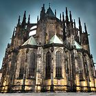 HDR Saint Vitus Cathedral by Gabor Pozsgai
