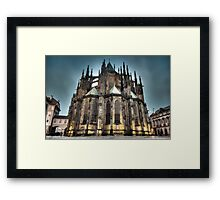HDR Saint Vitus Cathedral Framed Print