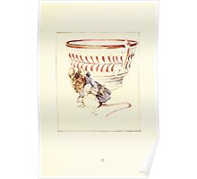 The Tailor of Gloucester Beatrix Potter 1903 0039 Moust Dressed at Teacup Poster