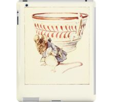 The Tailor of Gloucester Beatrix Potter 1903 0039 Moust Dressed at Teacup iPad Case/Skin