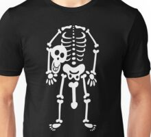 Skeleton Fancy Dress Unisex T-Shirt
