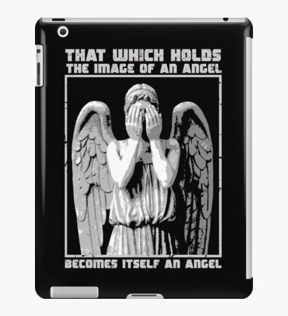 The image of an angel. (Bloody Version) iPad Case/Skin