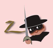Z= Legendary hero Zorro! Baby Tee
