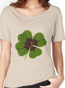 four-leaf clover Women's Relaxed Fit T-Shirt