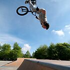 BMX Bike Stunt Back Flip by homydesign