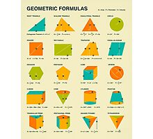 GEOMETRIC FORMULAS Photographic Print