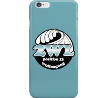 2WL Position 13 Wollongong (80s) iPhone Case/Skin