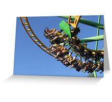 coaster ride! Greeting Card