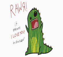 Dinosaure RAWR by HolyDio